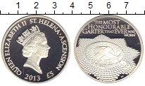 Изображение Монеты Остров Святой Елены 5 фунтов 2013 Серебро Proof