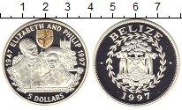 Изображение Монеты Белиз 5 долларов 1997 Серебро Proof-