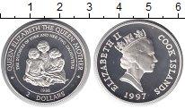 Изображение Монеты Острова Кука 2 доллара 1997 Серебро Proof