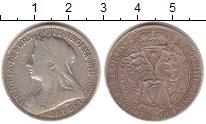 Изображение Монеты Великобритания 1 флорин 1900 Серебро VF