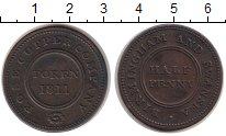 Изображение Монеты Великобритания 1/2 пенни 1811 Медь XF