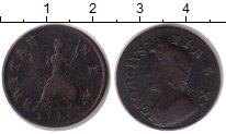 Изображение Монеты Великобритания 1 фартинг 1735 Медь VF