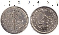 Изображение Монеты Боливия 50 сентаво 1939 Медно-никель UNC-