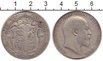 Изображение Монеты Великобритания 1/2 кроны 1906 Серебро VF