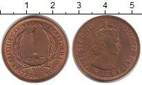 Изображение Монеты Карибы Карибы 1960 Бронза UNC