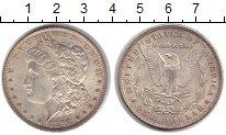 Изображение Монеты США 1 доллар 1886 Серебро UNC- Морган