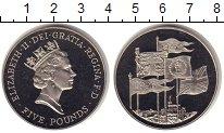 Изображение Монеты Великобритания 5 фунтов 1996 Медно-никель UNC Елизавета II. 70 - л