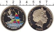 Изображение Монеты Соломоновы острова 1 доллар 2000 Медно-никель Proof-