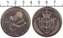 Изображение Монеты Ниуэ 5 долларов 1987 Медно-никель UNC Штеффи Граф.