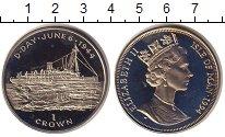 Изображение Монеты Остров Мэн 1 крона 1994 Медно-никель UNC-