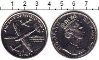 Изображение Мелочь Остров Мэн 1 крона 1995 Медно-никель UNC Елизавета II. Авиаци