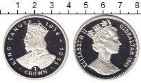 Изображение Монеты Гибралтар 1 крона 1999 Серебро Proof Елизавета II. Король