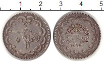 Изображение Монеты Турция 5 куруш 1885 Серебро XF Абдул Хамид II