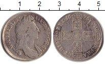 Изображение Монеты Великобритания 1 шиллинг 1696 Серебро VF
