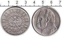 Изображение Монеты Польша 10 злотых 1935 Серебро XF Йозеф Пилсудский