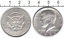 Изображение Монеты США 1/2 доллара 1966 Серебро UNC-