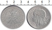 Изображение Монеты Польша 10 злотых 1933 Серебро XF