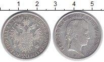 Изображение Монеты Австрия 20 крейцеров 1844 Серебро XF