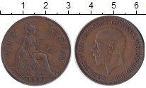 Изображение Монеты Великобритания 1 пенни 1935 Бронза XF