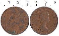 Изображение Монеты Великобритания 1 пенни 1962 Бронза XF
