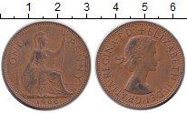 Изображение Монеты Великобритания 1 пенни 1966 Бронза XF