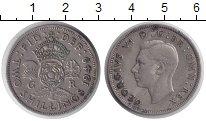 Изображение Монеты Великобритания 2 шиллинга 1949 Медно-никель VF