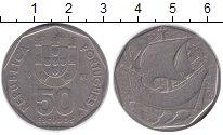 Изображение Монеты Португалия 50 эскудо 1987 Медно-никель XF