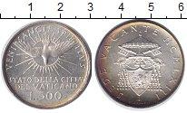Изображение Монеты Ватикан 500 лир 1963 Серебро UNC- Свободный престол