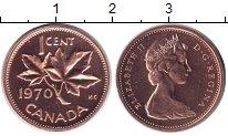 Изображение Монеты Канада 1 цент 1970 Медь UNC