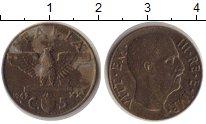 Изображение Монеты Италия 5 сентим 1942 Медь