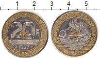 Изображение Монеты Франция 20 франков 1993 Биметалл