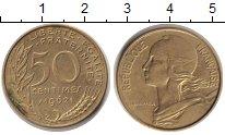 Изображение Монеты Франция 50 сантимов 1962 Медь XF