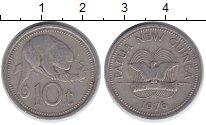 Изображение Монеты Папуа-Новая Гвинея 10 тоа 1976 Медно-никель XF