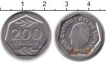Изображение Монеты Испания 200 песет 1987 Медно-никель XF Хуан Карлос I.