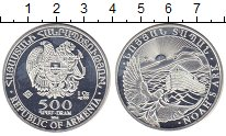 Изображение Монеты Армения 500 драм 2014 Серебро UNC