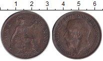 Изображение Монеты Великобритания 1 пенни 1915 Бронза XF