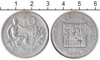 Чехословакия 10 крон 1932 Серебро