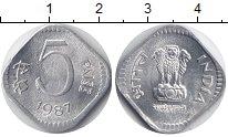 Изображение Монеты Индия 3 пайса 1971 Алюминий UNC-