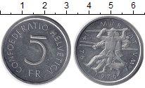 Изображение Монеты Швейцария 5 франков 1976 Медно-никель UNC