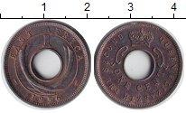Изображение Монеты Восточная Африка 1 цент 1956 Бронза XF Елизавета II.