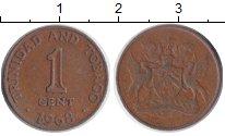 Изображение Монеты Тринидад и Тобаго Тринидад и Тобаго 1968 Бронза UNC-