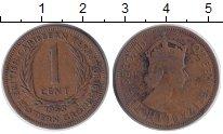 Изображение Монеты Карибы 1 цент 1955 Бронза VF