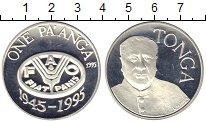 Изображение Монеты Тонга 1 паанга 1995 Серебро Proof