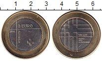 Словения 3 евро 2016 Биметалл