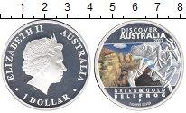 Изображение Монеты Австралия 1 доллар 2012 Серебро Proof- Лягушка.