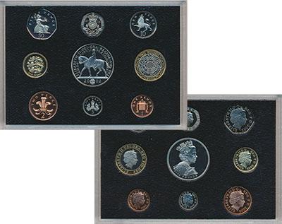 Изображение Подарочные монеты Великобритания Набор 2002 года 2002  Proof