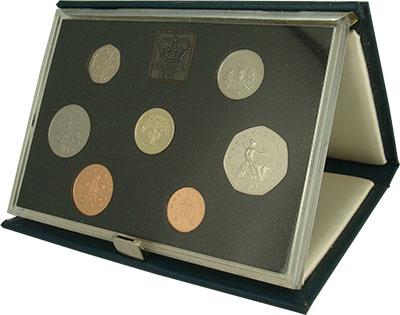 Изображение Подарочные монеты Великобритания Набор 1987 года 1987  Proof Набор из семи монет