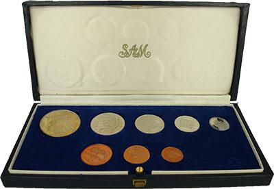 Изображение Подарочные монеты ЮАР Набор 1972 года 1972  Proof-