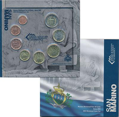 Изображение Подарочные наборы Сан-Марино Набор 2012 года 2012  UNC
