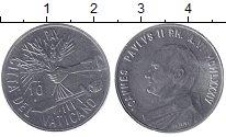 Изображение Монеты Ватикан 10 лир 1984 Алюминий XF